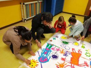attività Mus-e Torino con l'arte nelle scuole