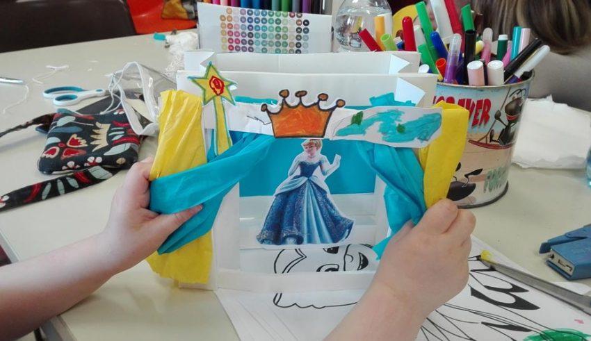 laboratori-di-arti-vive-presso-Ospedale Infantile Regina Margherita anno-17-18-artista-Donatella-Bianco